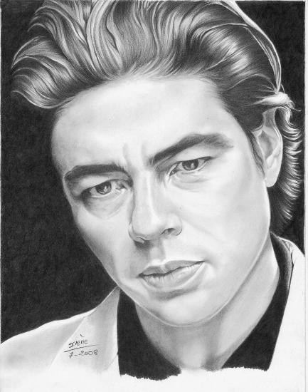 Benicio Del Toro by peggy